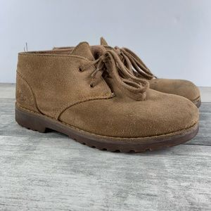 UGG Reiley Classic Chestnut Suede Boots US 3 Boys